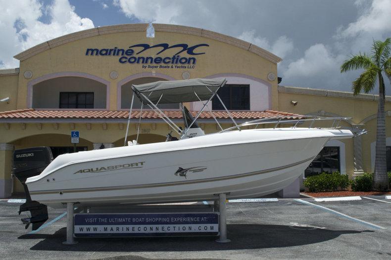Used 2003 Aquasport 205 Osprey Cc Boat For Sale In West