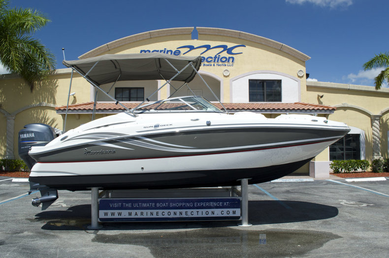 Used 2012 Hurricane SunDeck SD 2200 OB boat for sale in West Palm Beach, FL