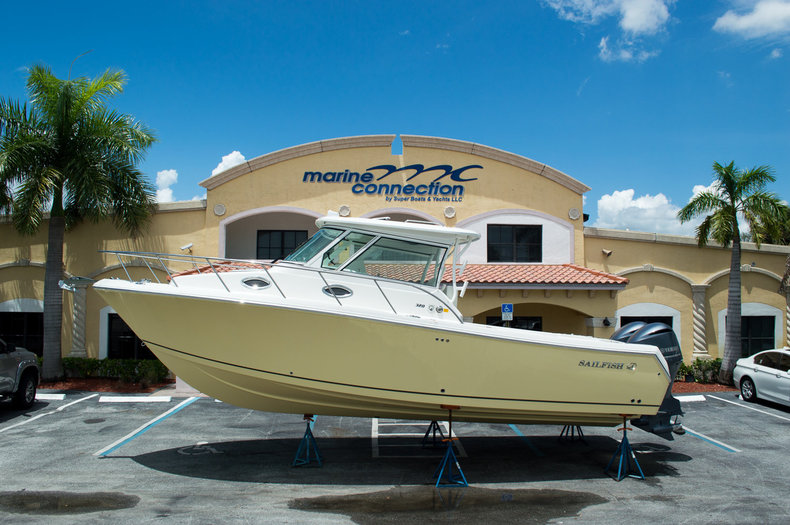 New 2014 Sailfish 320 EXP Express Cruiser boat for sale in West Palm Beach, FL