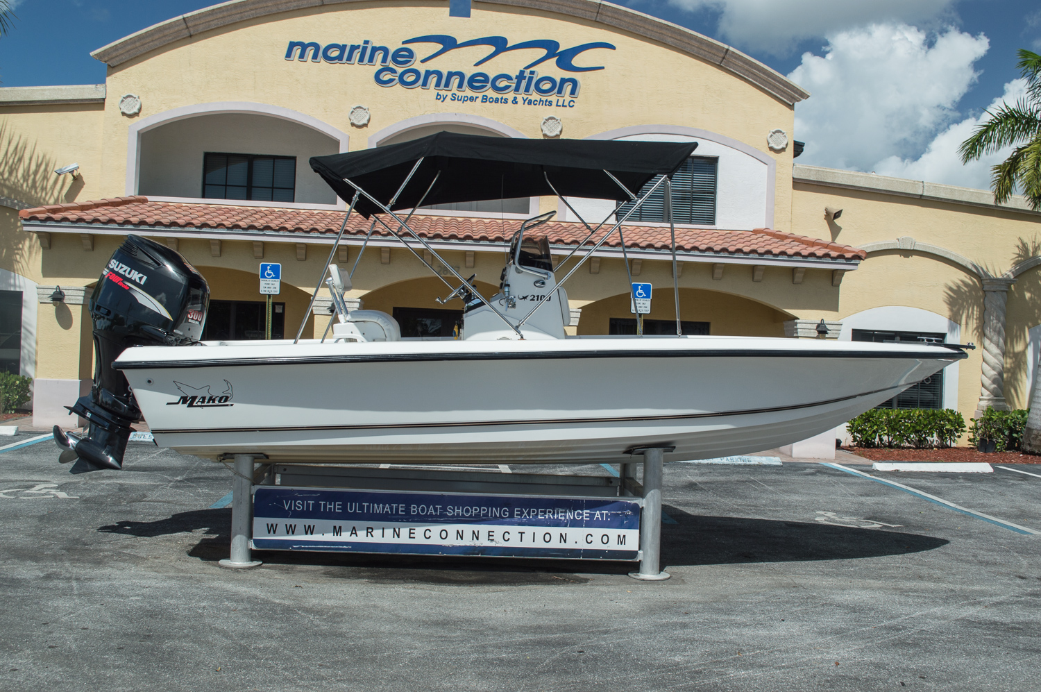 Used 1999 Mako Bayshark 2100 Boat For Sale In West Palm