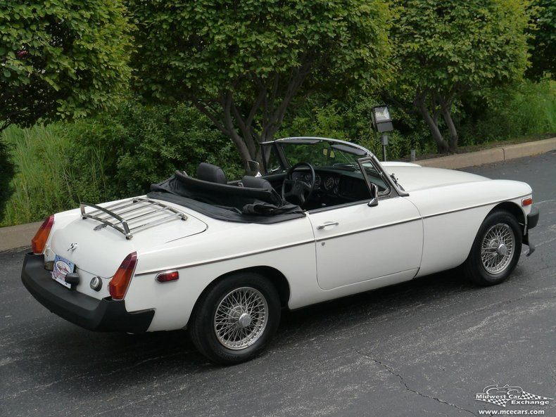 1980 1980 MG MGB For Sale