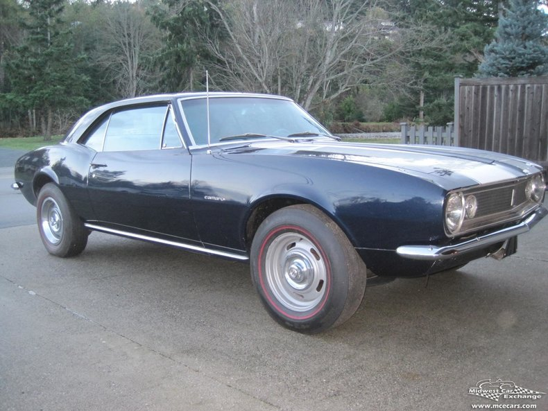 1967 1967 Chevrolet Camaro For Sale