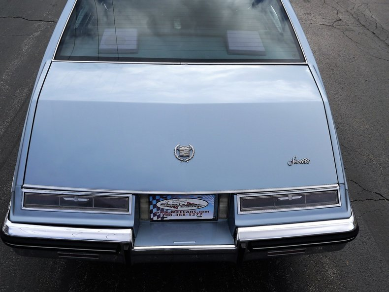 1985 1985 Cadillac Seville For Sale