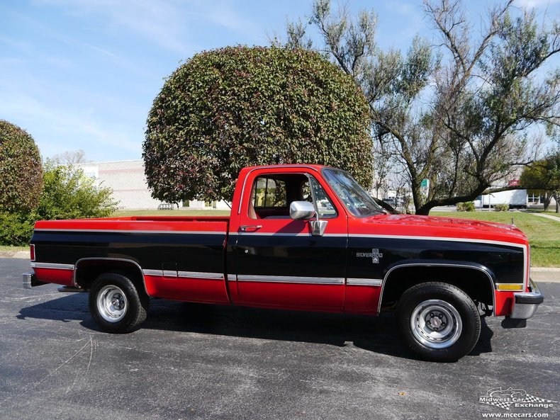 1987 1987 Chevrolet Silverado For Sale