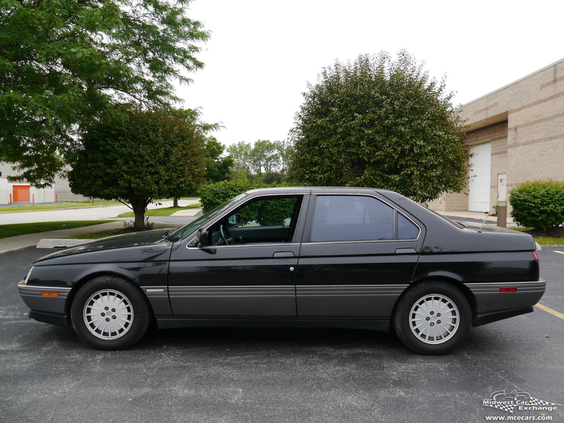 1991 alfa romeo 164 l midwest car exchange. Black Bedroom Furniture Sets. Home Design Ideas