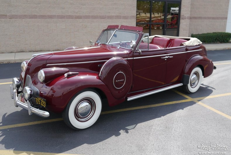 1939 Buick Century Sport Phaeton