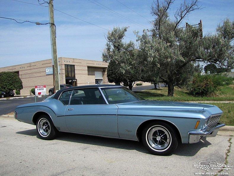 Attrayant ... 1972 Buick Riviera ...