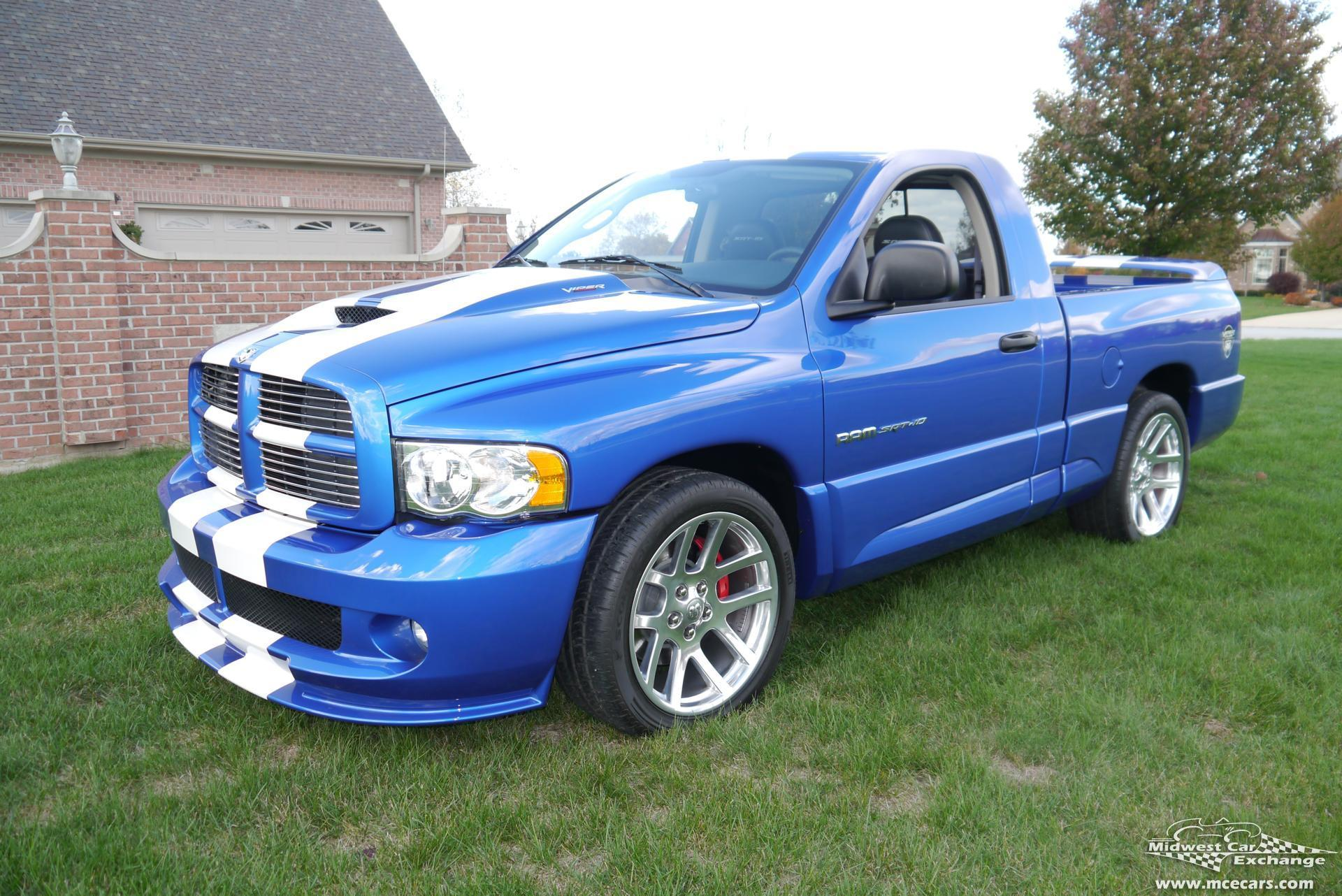 Ram Srt 10 >> 2004 Dodge SRT Viper Truck | Midwest Car Exchange