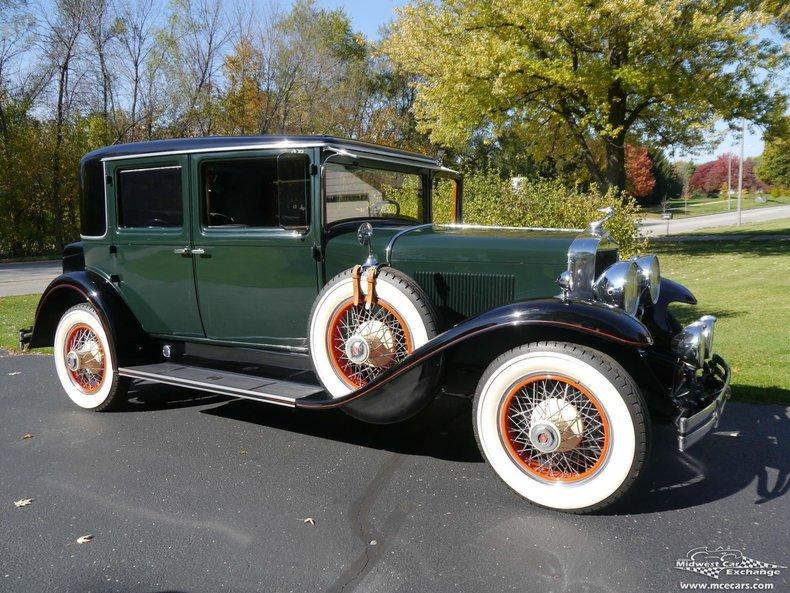 1929 Lasalle Town Sedan