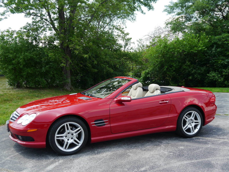 2006 Mercedes Benz SL 500