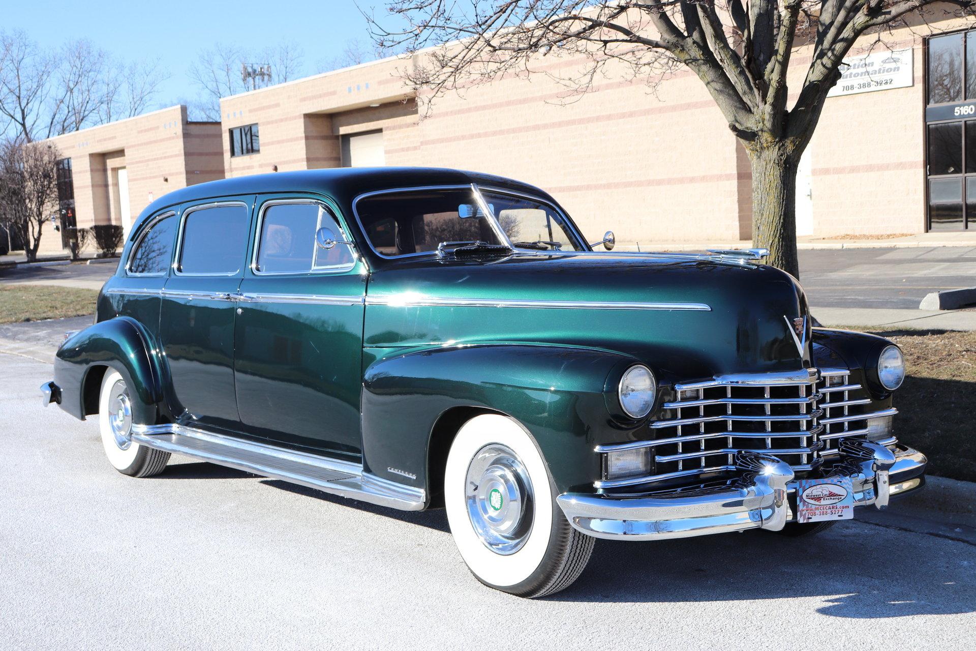 491750f55a342 hd 1946 cadillac fleetwood 4 door limousine 7 passenger