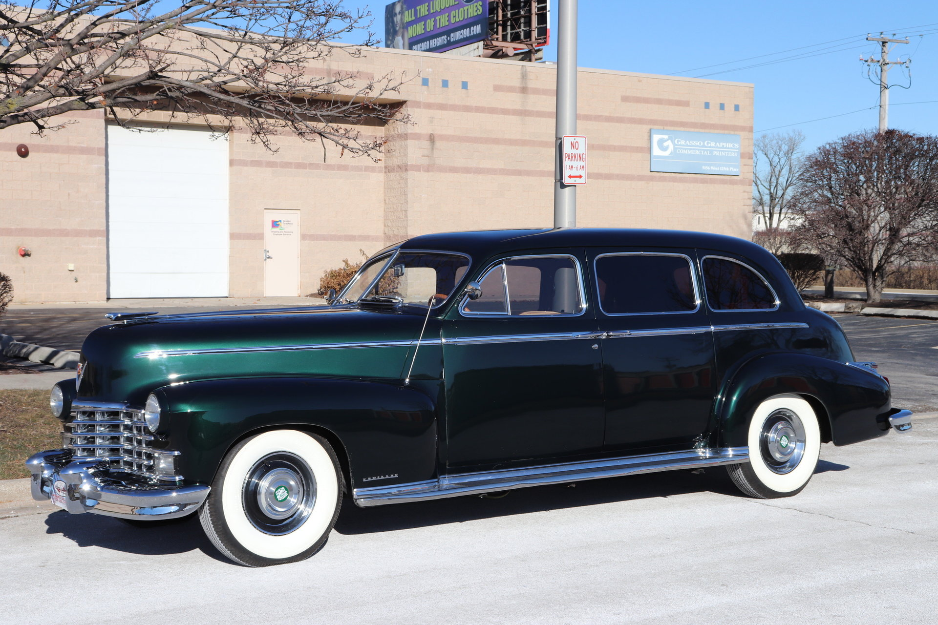 1946 Cadillac Fleetwood | Midwest Car Exchange  1946 Cadillac F...