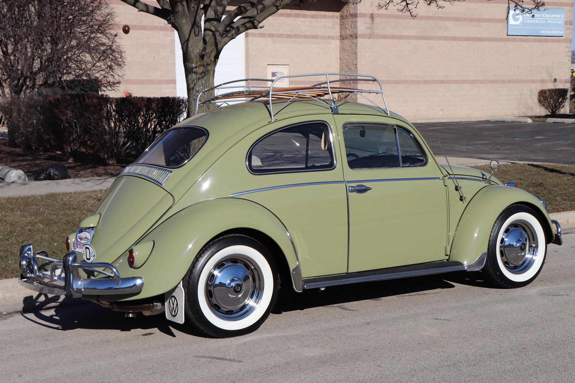1960 Volkswagen Beetle For Sale 78954 Mcg