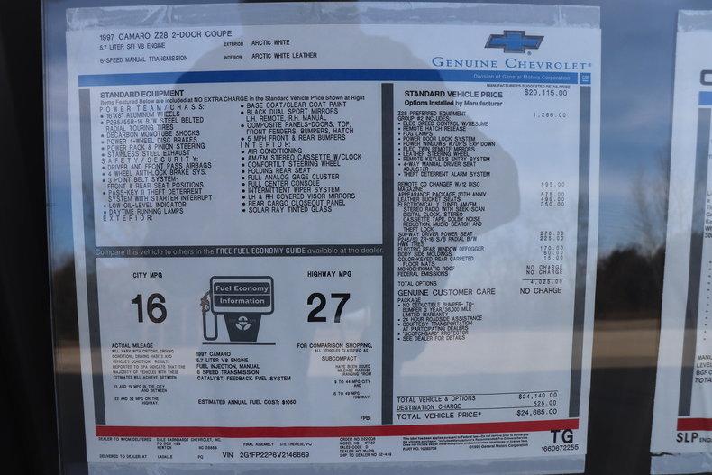 499538ef4a9cf low res 1997 chevrolet camaro z28