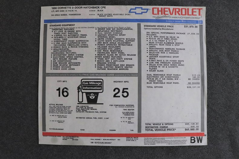 5375955cc7b11 low res 1990 chevrolet corvette zr1