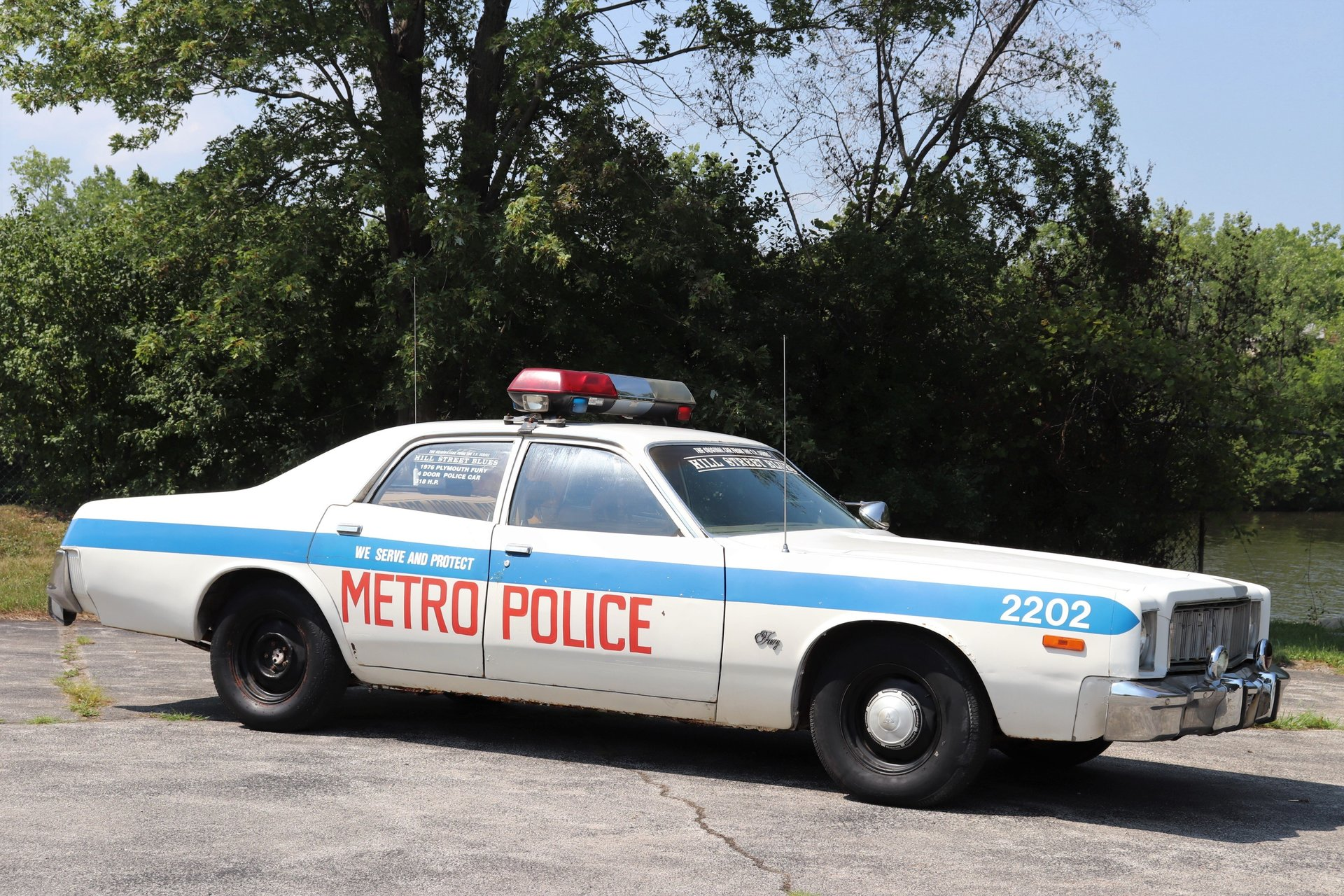 1976 Plymouth Fury Hill Street Blues TV Police Car for sale