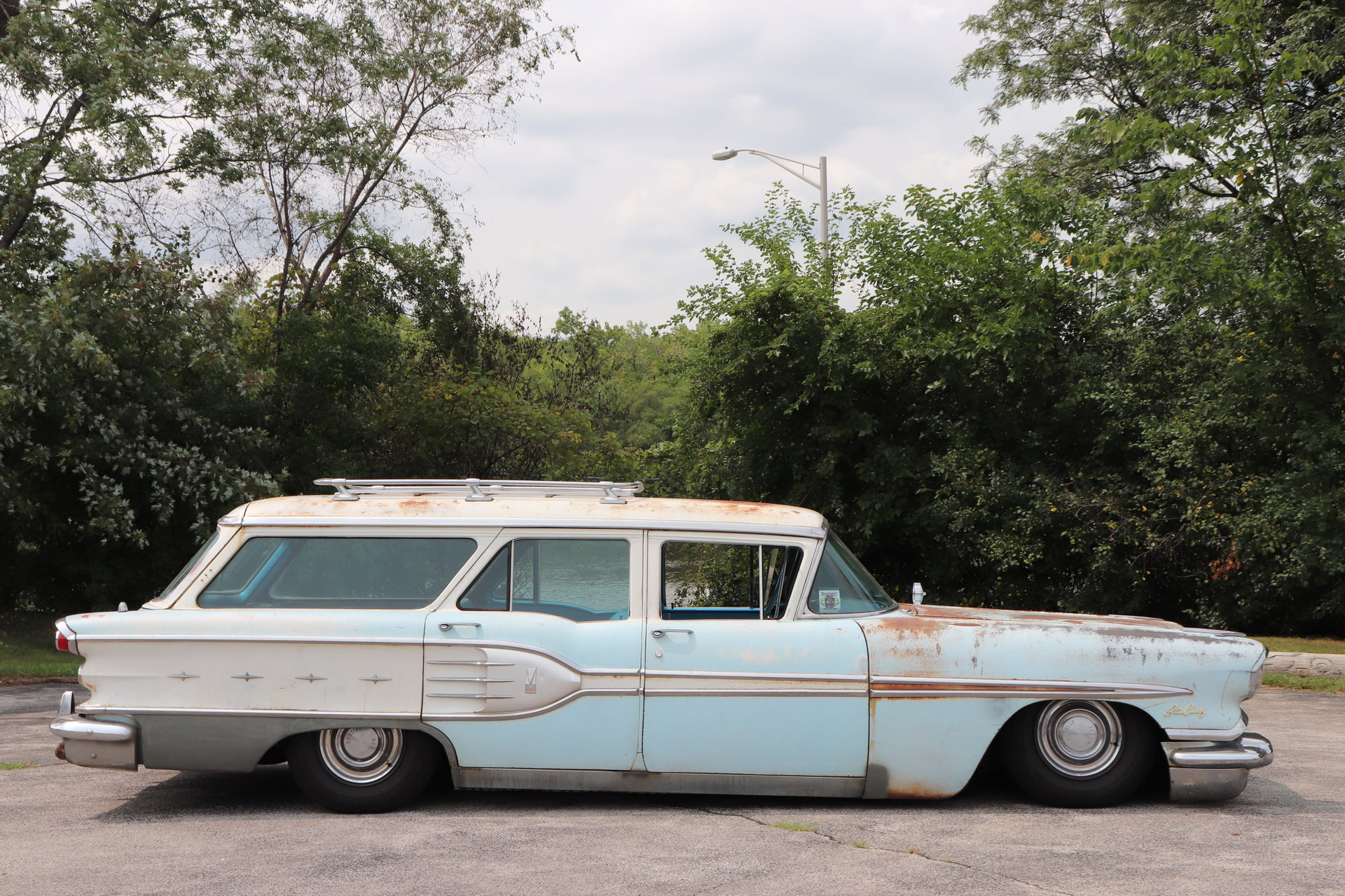 1958 Pontiac Star Chief Custom Safari Station Wagon For Sale 99358 1954
