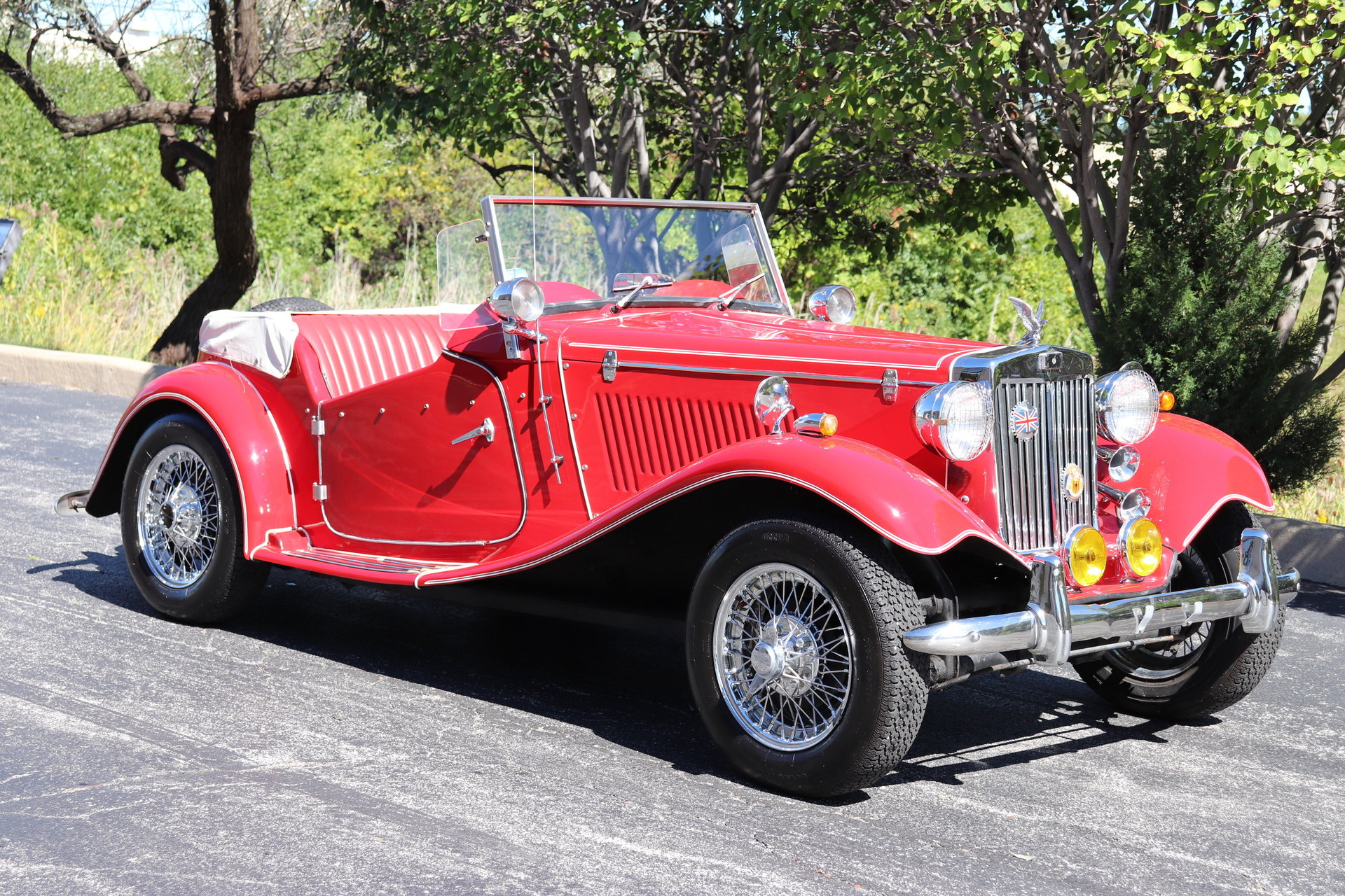 1953 Mg Td Roadster Midwest Car Exchange
