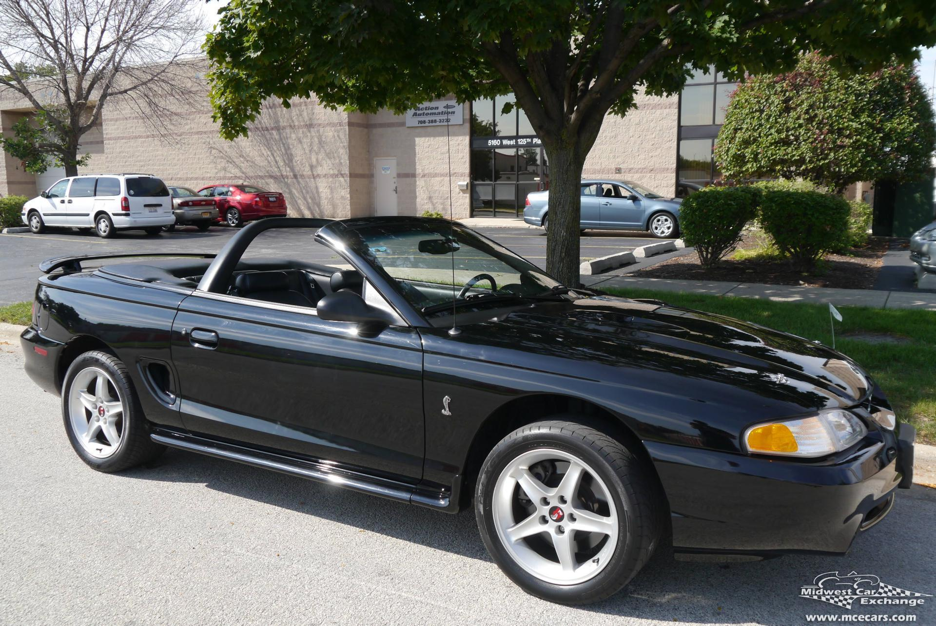 1997 ford mustang svt cobra midwest car exchange for Ford mustang motor sizes