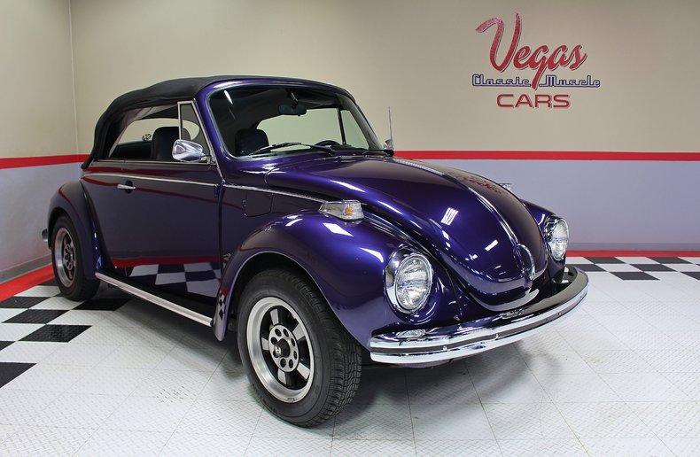 1973 1973 Volkswagen Super Beetle Convertible For Sale