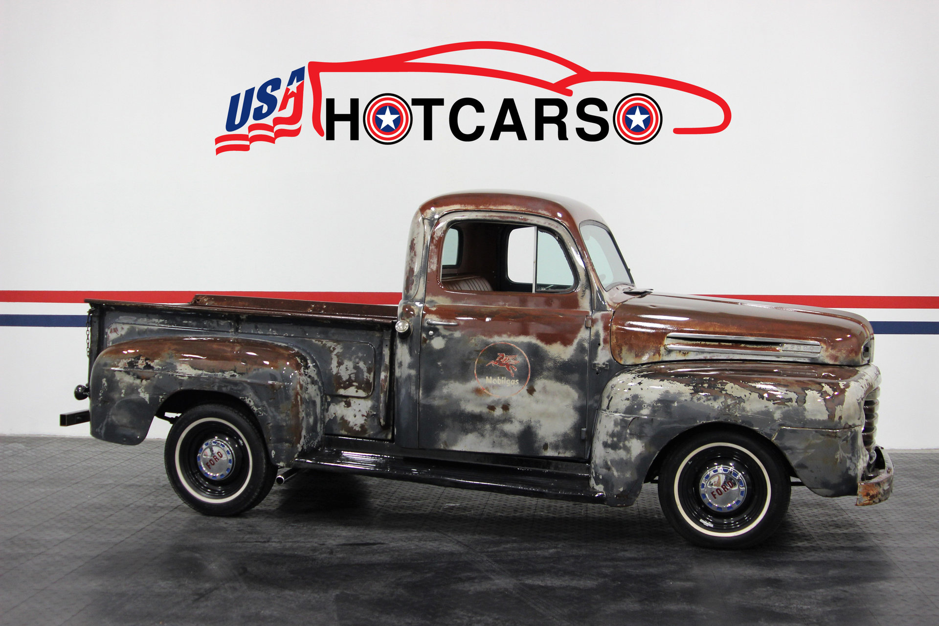 1948 Ford F1 Classictrucksvintageold Carsmuscle Carsusa Hot Pickup Truck