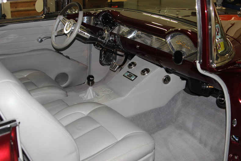 1955 Chevrolet Bel Air/150/210 --: 1955 Chevy BelAir LS with 6 Speed