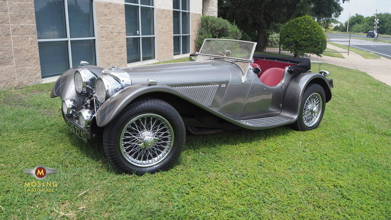 1937 Jaguar SS100 For Sale