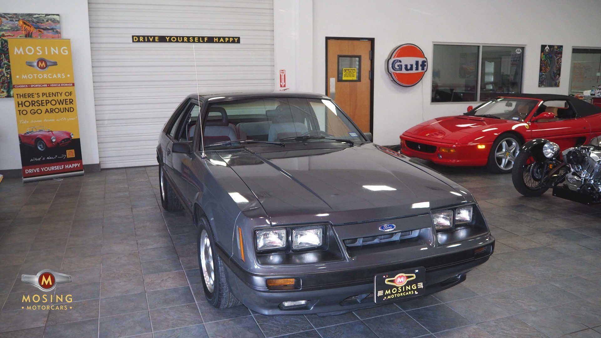 1986 Ford Mustang Gt Hatchback 5 Speed For Sale 102443 Mcg