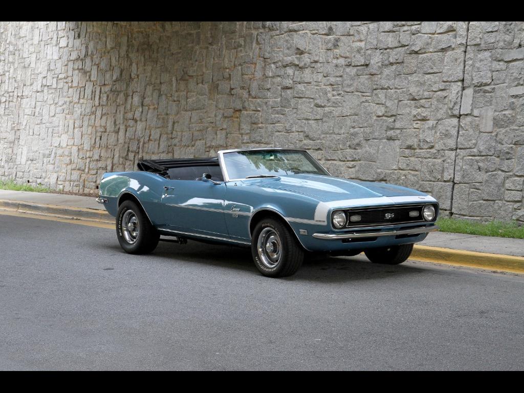1968 Chevrolet Camaro Motorcar Studio Ss Convertible