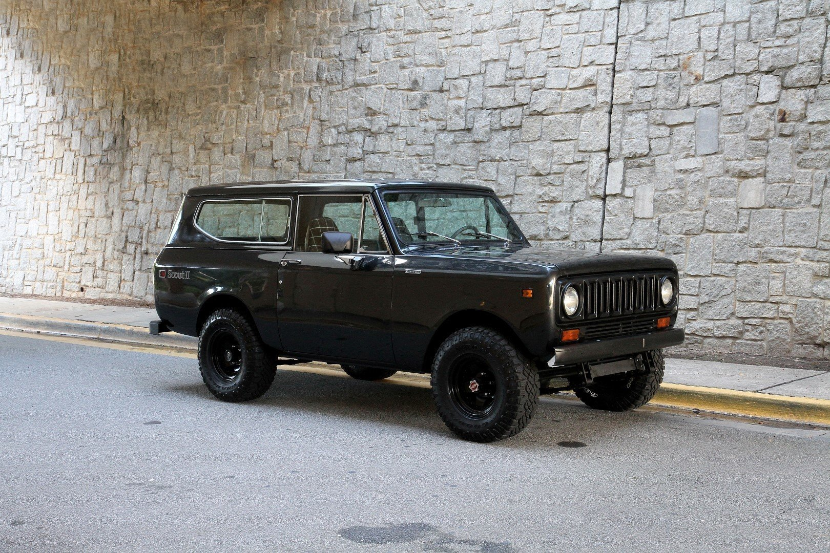 196244 hd 1980 international scout ii diesel