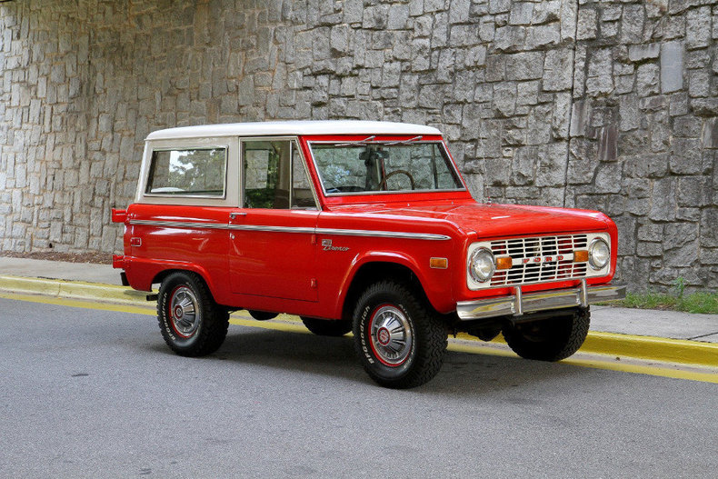 1972 Ford Bronco | Motorcar Studio