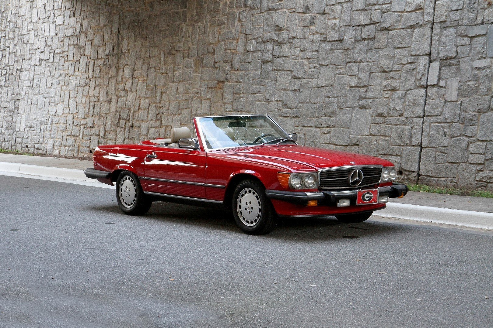 19647f hd 1987 mercedes benz 560 sl