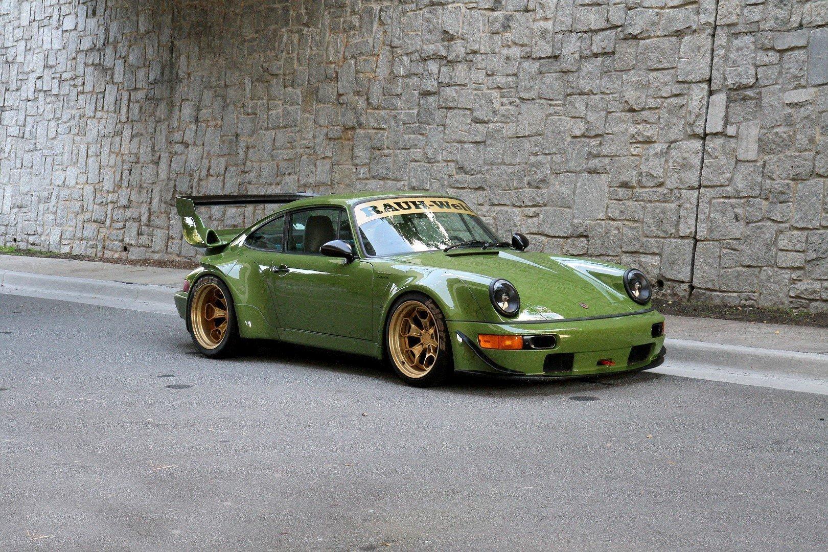 195207 hd 1992 porsche 911 rwb