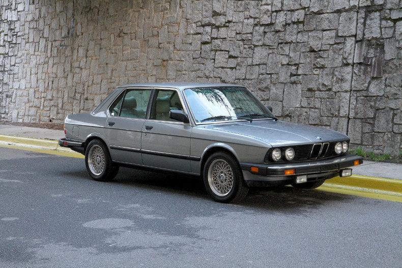 1986 BMW 535i