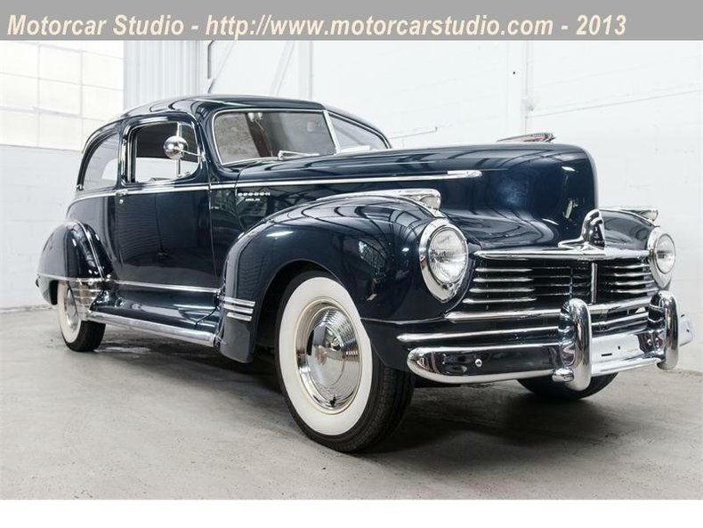 1947 Hudson Super Six Brougham