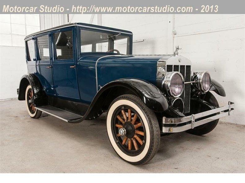 1926 Franklin 11A Sedan