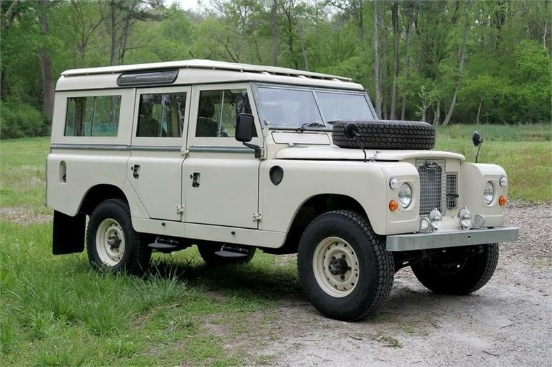 1967 Land Rover Series II