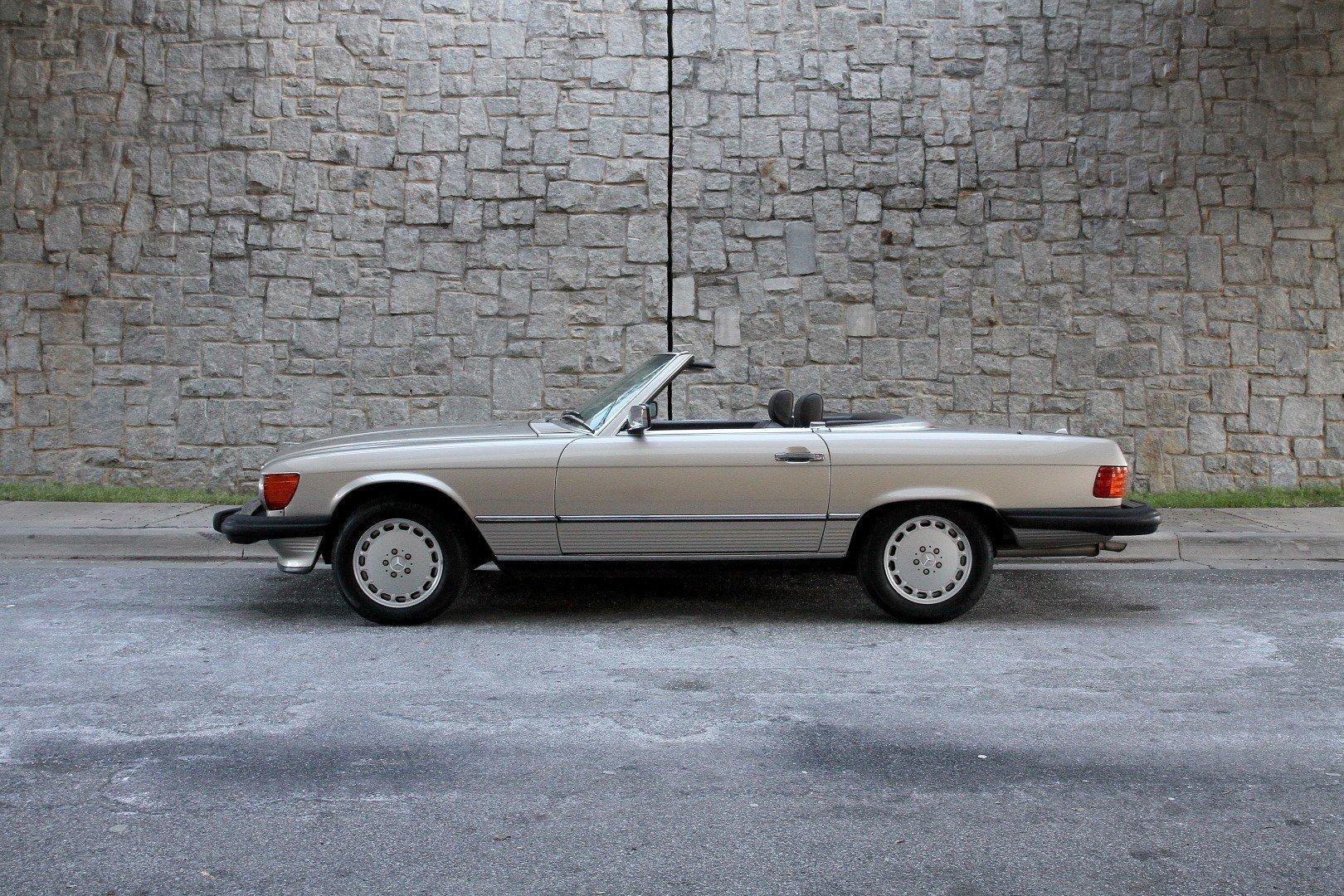 1988 mercedes benz 560 sl for sale 78510 mcg for Mercedes garage 93