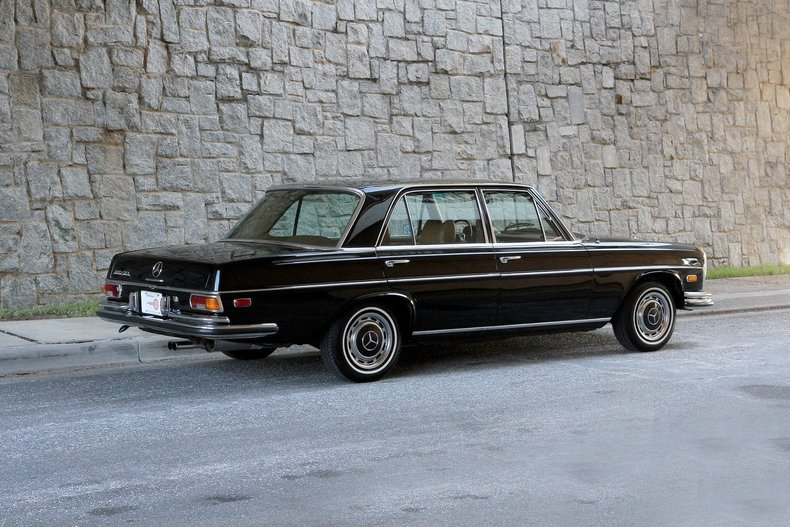 1970 mercedes benz 280 sel for sale 78506 mcg. Black Bedroom Furniture Sets. Home Design Ideas