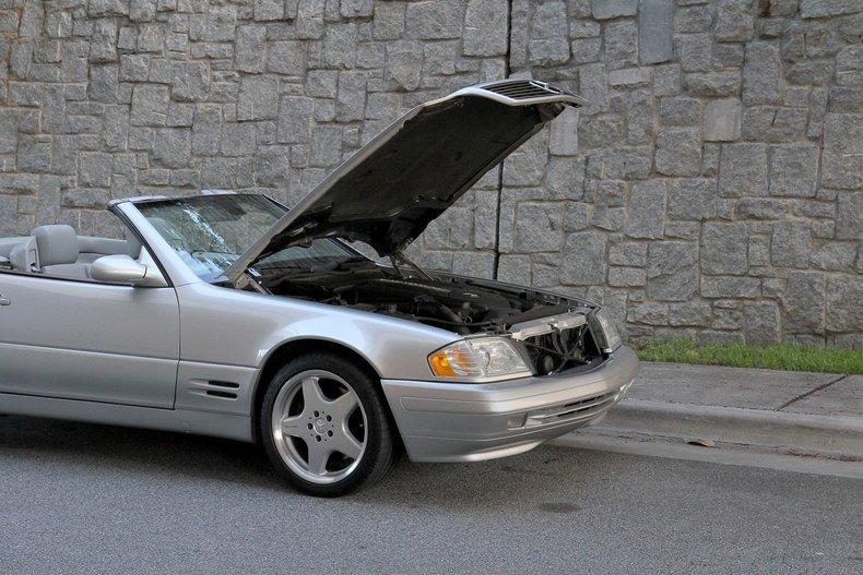2002 mercedes benz sl500 for sale 78809 mcg for Mercedes benz plant atlanta ga