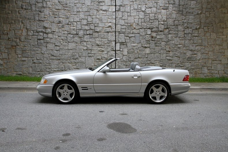 1999 mercedes benz sl500 for sale 84771 mcg for Mercedes benz 500 sl for sale