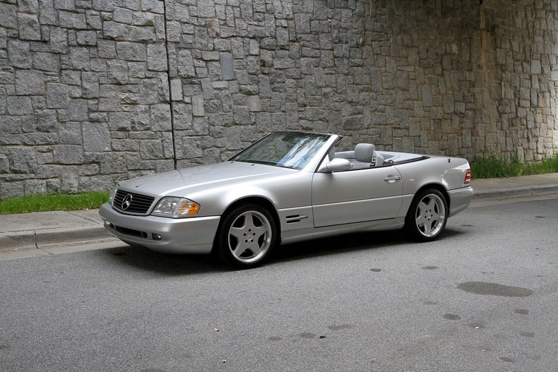1999 mercedes benz sl500 for sale 84771 mcg. Black Bedroom Furniture Sets. Home Design Ideas