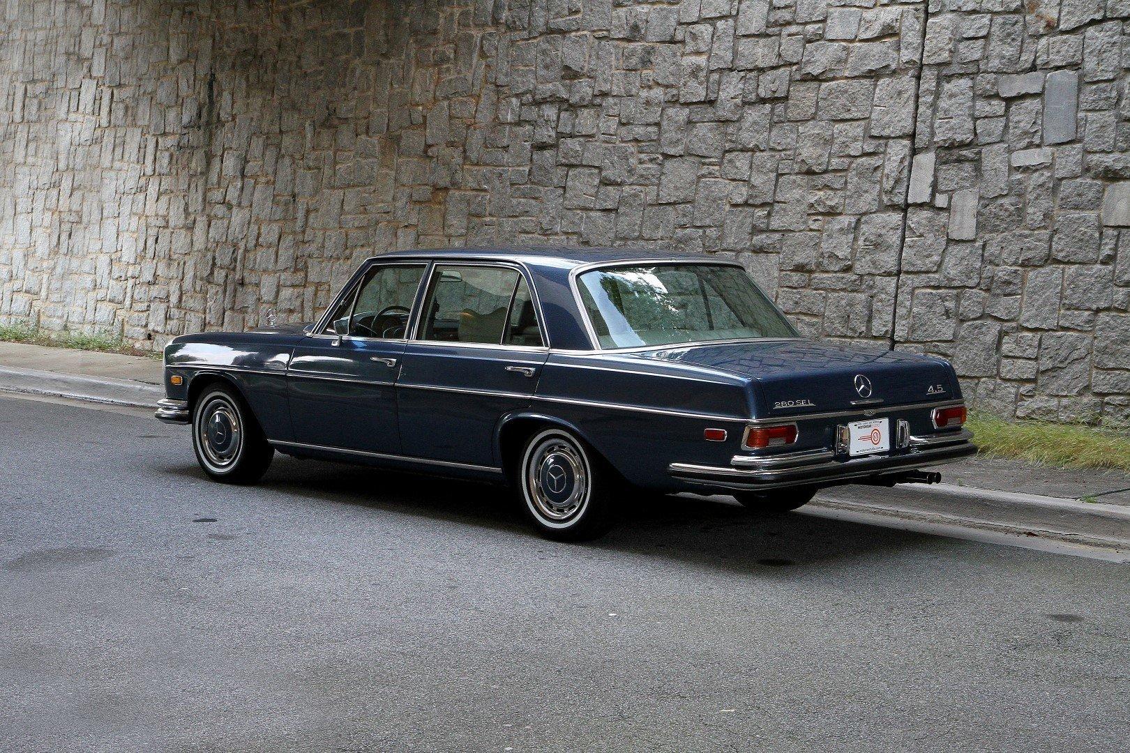 1973 mercedes benz 280sel for sale 91280 mcg for Mercedes garage 93