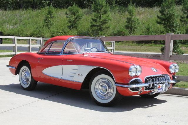 147622110ed5 hd 1958 chevrolet corvette fuelie