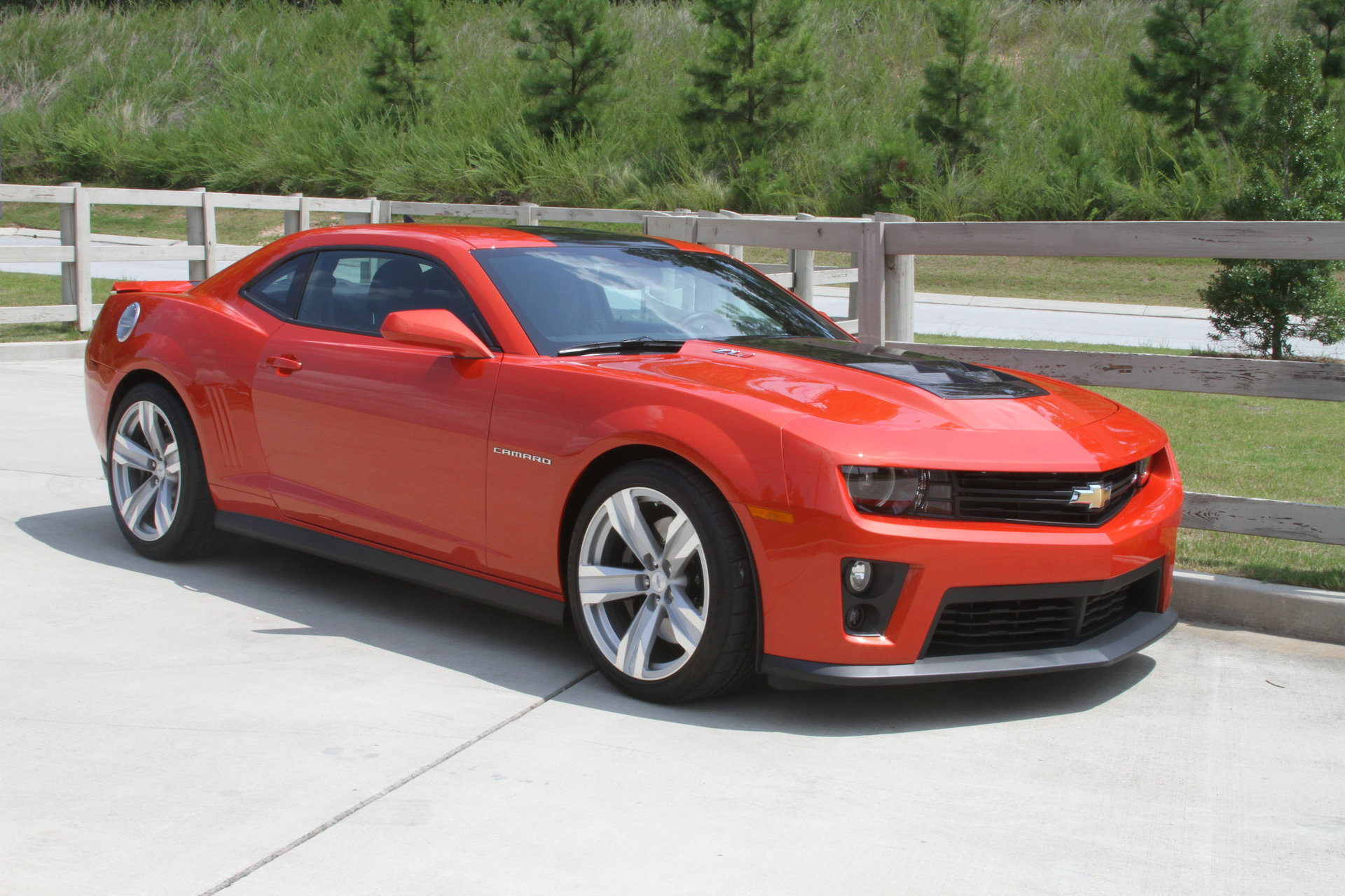 2012 Chevrolet Camaro Zl1 For Sale 72975 Mcg