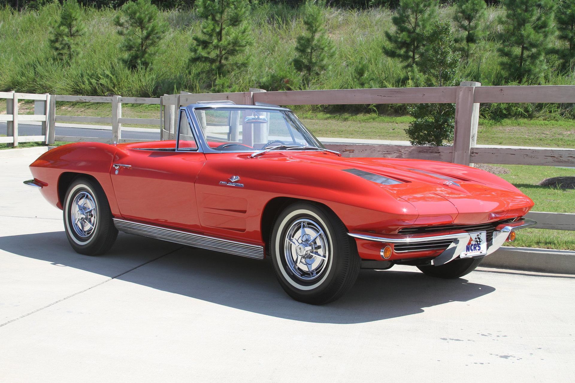 107116911154 hd 1963 chevrolet corvette fuelie