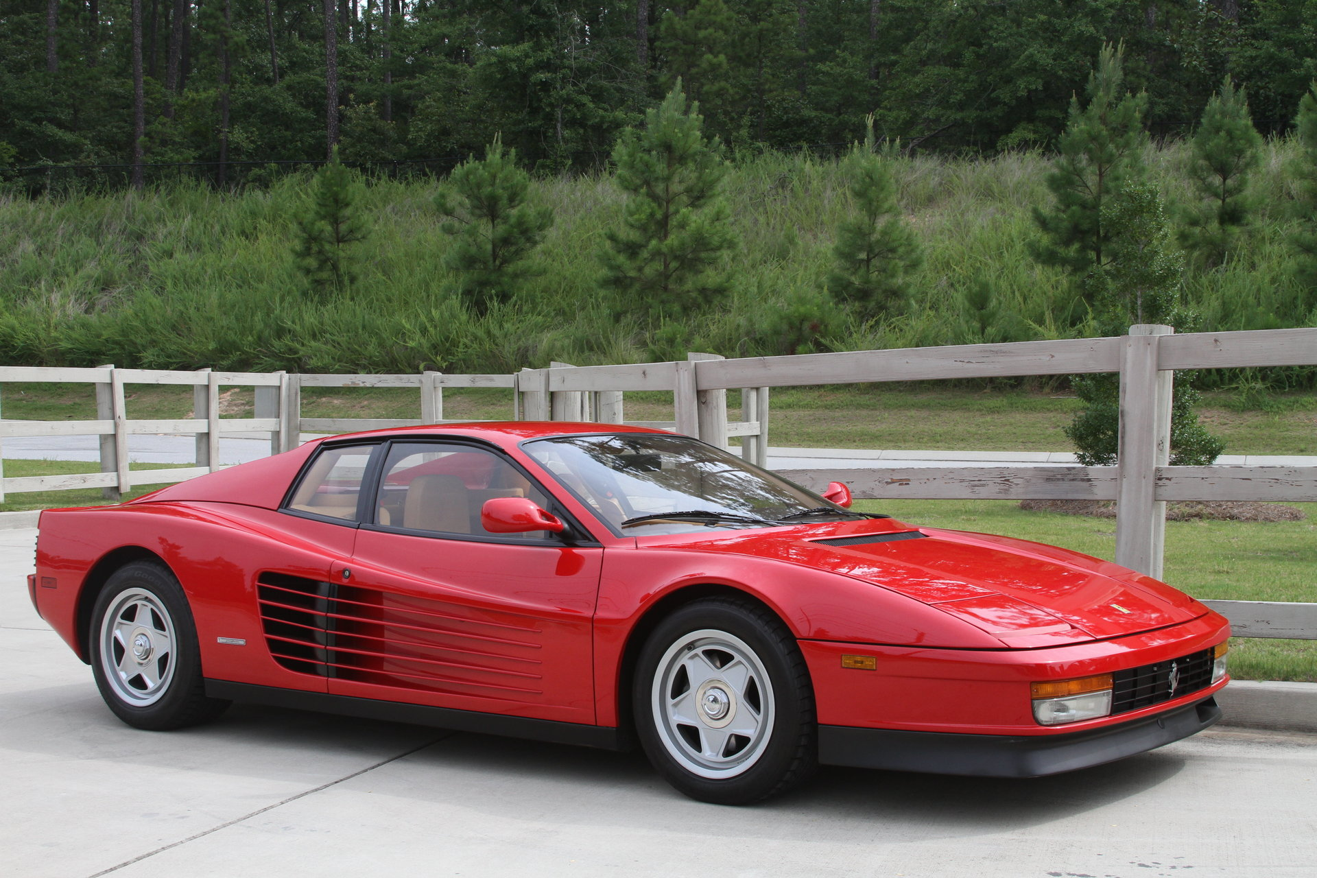 1987 ferrari testarossa for sale 72965 mcg. Black Bedroom Furniture Sets. Home Design Ideas