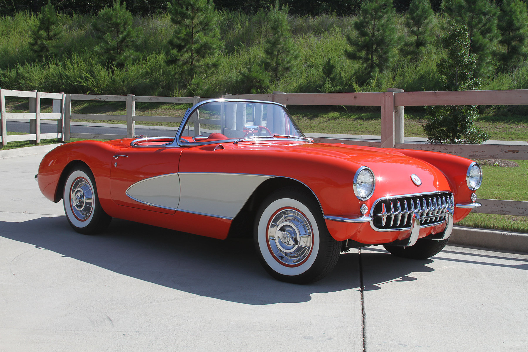 17902a0e12b3 hd 1957 chevrolet corvette