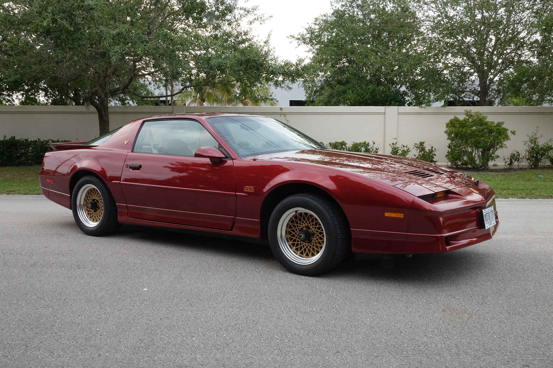 1987 pontiac firebird trans am gta for sale 87065 mcg. Black Bedroom Furniture Sets. Home Design Ideas