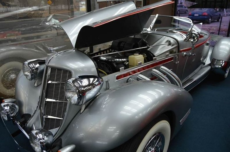 1936 auburn speedster for sale 62680 mcg for Airport motors inc auburn al
